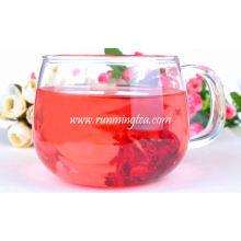 Saboroso, secado, Roselle, flor, chá