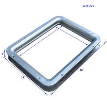 High Quality Mild Steel Square Vision Panels For Fire Doors