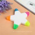 5 Colors Star Shaped Highlighter Marker Pen for Gift
