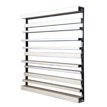 Structural Square shape  Aluminum Box Facade  Louver