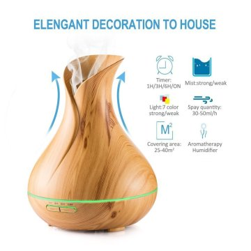 Diffuseur d'arome de machine de parfum d'humidificateur d'innovation 400ml