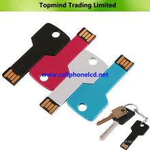 Forma clave Unidad flash USB 1 GB 2 GB 4 GB 16 GB 32 GB 64 GB