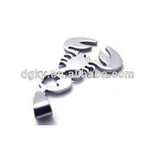 stainless steel scorpion king pendant