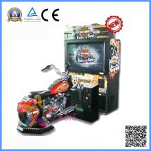 Máquina de juego caliente de la arcada del simulador de la motocicleta de la venta (motor de Harlly)