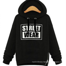 Winter Women Loose Casual Pullover Hooded Fleece