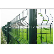 Galvanized and PVC Coated Wire Mesh Fence for Sale