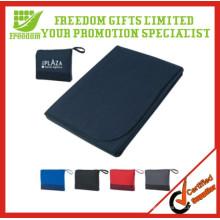 Promotional Custom Travlling Foldable Fleece Blanket