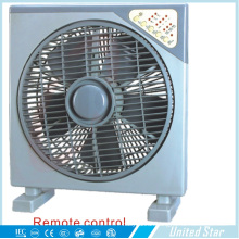 14 Inch Electric Box Fan with Remote Control