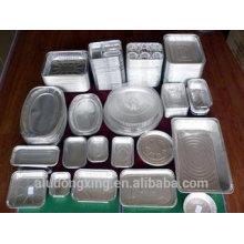 Papel de aluminio para embalaje / caja de almuerzo