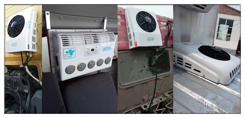 electric air conditioner for cabin air conditioning