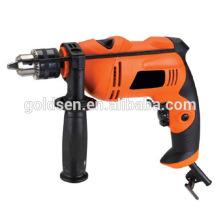 GOLDENTOOL 13mm 600w poder Handheld de madera de acero de hormigón de perforación de perforación de la base eléctrica portátil mini máquina de taladro de mano GW8258