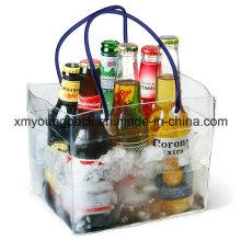 Promotional Plastic Water-Tight Beer Bottle Cooler Bag