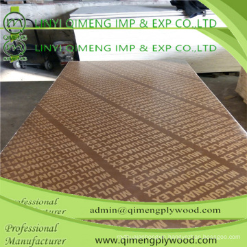 Brown Color 18mm Recycled Core Marine Plywood with Low Price