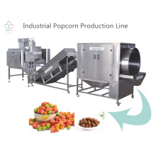 Machine à pop-corn industrielle automatique