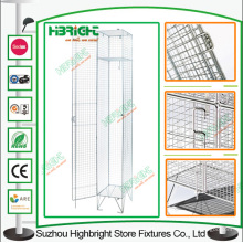 Construction domaine porte un Wire Mesh armoire Locker