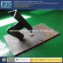 High precision cnc machining welding steel alloy mechanical parts