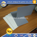 recycle plastic board 1.8mm 2mm 3mm hard surface sheet rigid pvc