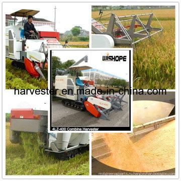 Зерноуборочный комбайн 4 кг / с для кормления риса