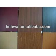 Wood pattern Aluminium composite panel sheet