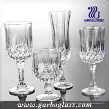 Coupe en verre / Verre Verre / Verre Crystalline Haute Stemware (GB040206ZS)