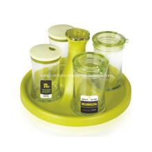 4Pcs Olive Oil and Vinegar Dispensers
