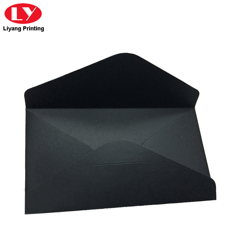 Black Kraft Envelope