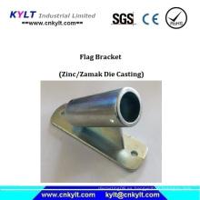 Aleación de aluminio de fundición de 45 ángulo Outrigger Flagpole titular