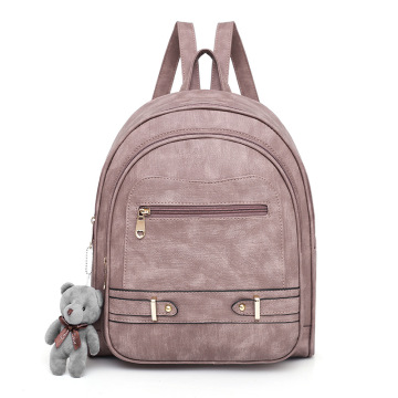 Fashion Wanita Backpack Purse Grosir PU Leather Ladies