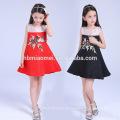 2017 niños vestidos diseños al por mayor de los niños ropa de vestir en stock artículos vestido de la muchacha para la boda de la princesa