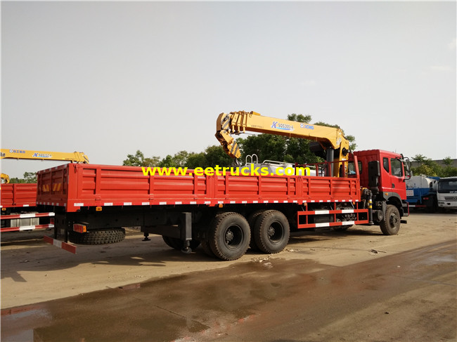16ton Truck with Cranes