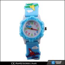 Relógio de desenhos animados de crianças bonitas e bonitas de plástico