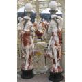 Escultura de mármore estátua esculpida escultura de pedra escultura de jardim para a decoração (SY-X1195)