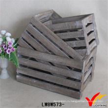 Рециркулировать деревянный ящик