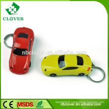 Keychain flashlight 2 LED with sound mini torch light keychain