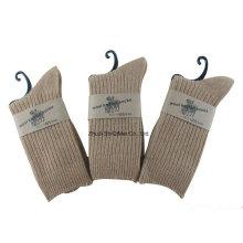 Usine fournisseur personnalisé hommes femmes chaude laine chaussettes