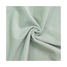 Whole sale 6W Dobby normal wash 100% cotton corduroy fleece fabric keep warm for garment trousers coat