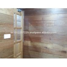 Meranti wood solid / engineering wall panel