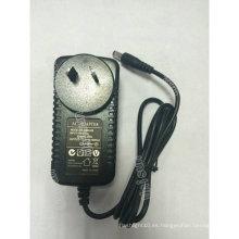 SAA Aprobado 12V 1.5A 18W Au Adaptador de corriente alterna estándar