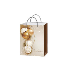 New design gift paper bag eco friendly shopping bags  for Christmas Promotion