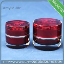 luxury cream jar cosmetic packaging jar cream jar mockup