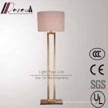 Modern Hotel Decoratove Antique Brass Standing Floor Lamp