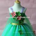 2017 vert couleur été fille robe Aliexpress, Ebay, Amazon vente chaude en gros robe de ballet tutu