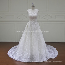 XF16049A molina real lace two pieces wedding dresses 2017
