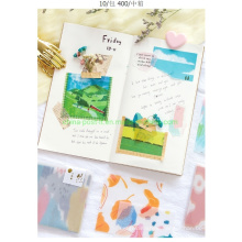 Background Decorating Litmus Paper Sticky Notes