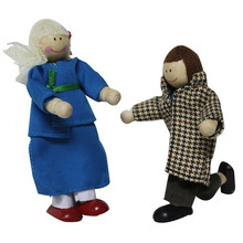 Hölzerne kleine Figur Puppe für Kinder