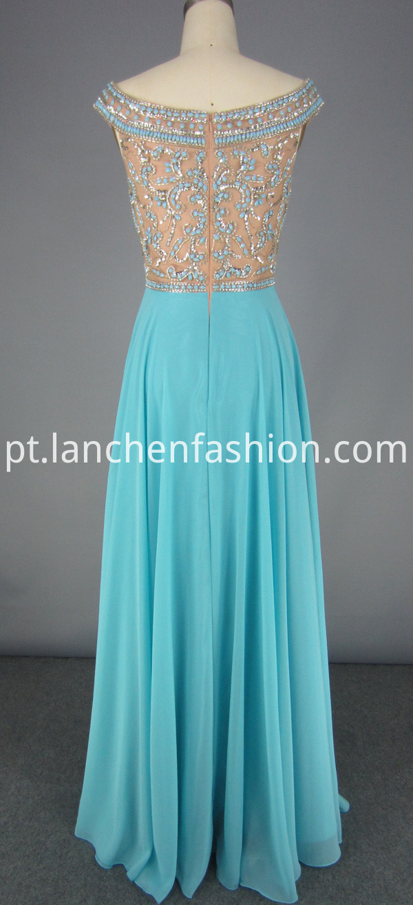 chiffon dress for wedding