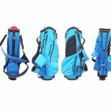 Auffällige wasserdichte Nylon Golf Stand Bag