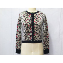 100% Cotton Ladies / Women Cardigan Knitwear