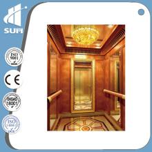 Speed 0.4m/S Luxury Decoration Home Elevator
