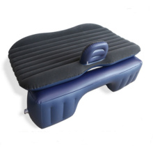 Inflatable Bed For Car Backseat Flocking With Pvc Coating Inflatable Car Air Bed